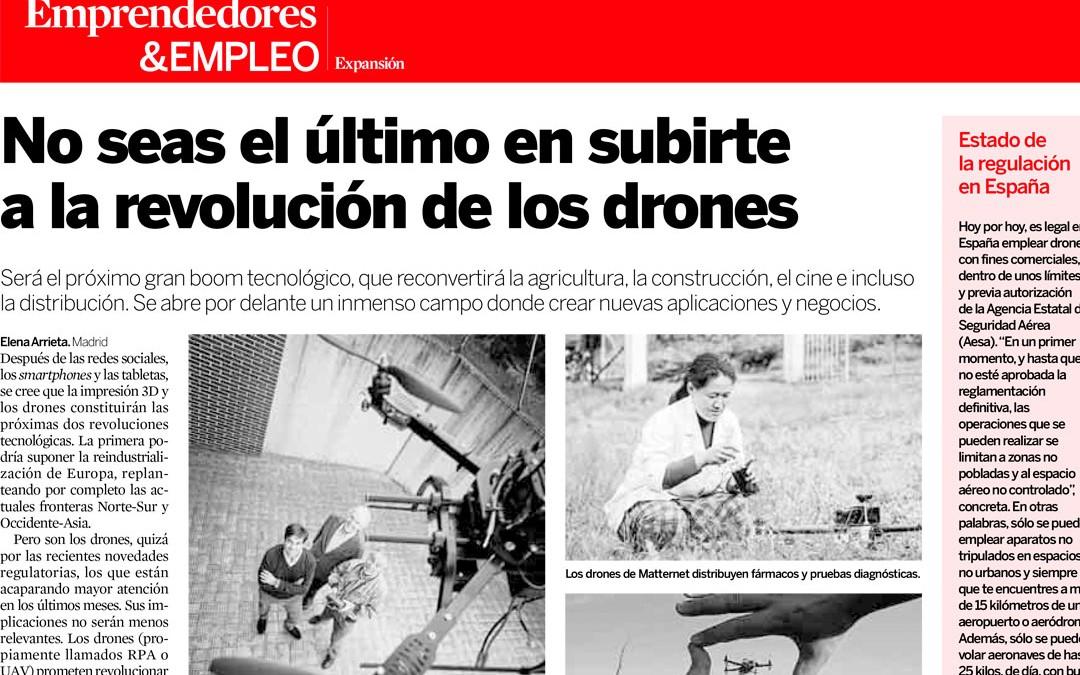 No seas el último en sumarte a la revolución de los drones
