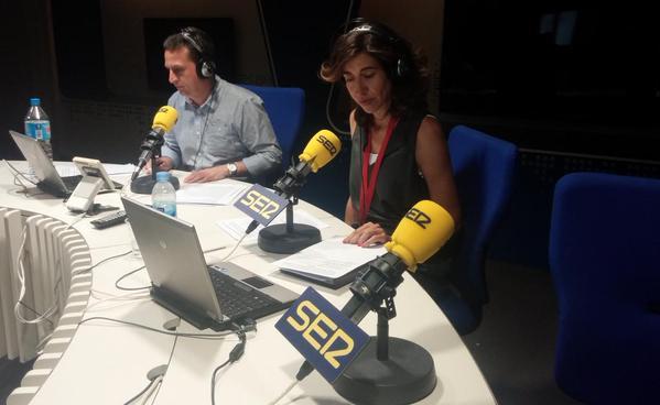 Expodronica en LA VENTANA de la CADENA SER.