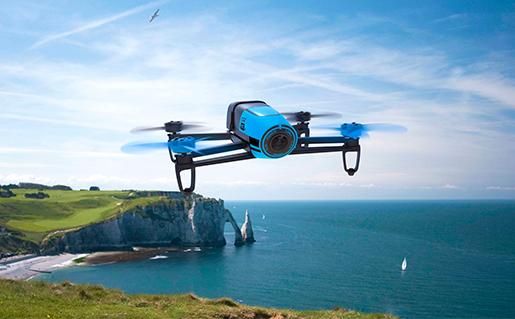 Uno de los lideres mundiales en fabricación de drones, Parrot, patrocinará Expodronica