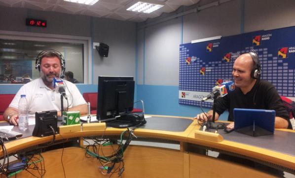 """""""España se está """"subiendo al tren"""" de los drones muy oportunamente"""", Richard Vinuesa en Aragón Radio"""