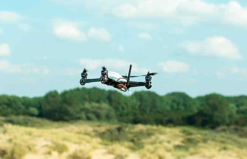 Sky Hero patrocinará la carrera de drones más importante del año en España
