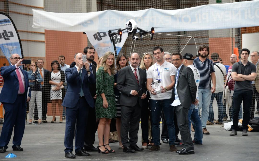 EXPODRÓNICA 2015 SITÚA A ESPAÑA COMO REFERENTE EUROPEO EN EL SECTOR DE LOS DRONES,  LA NUEVA REVOLUCIÓN TECNOLÓGICA