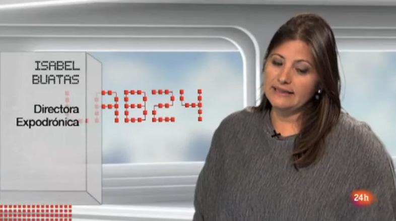 Expodrónica en el programa Lab24 de TVE