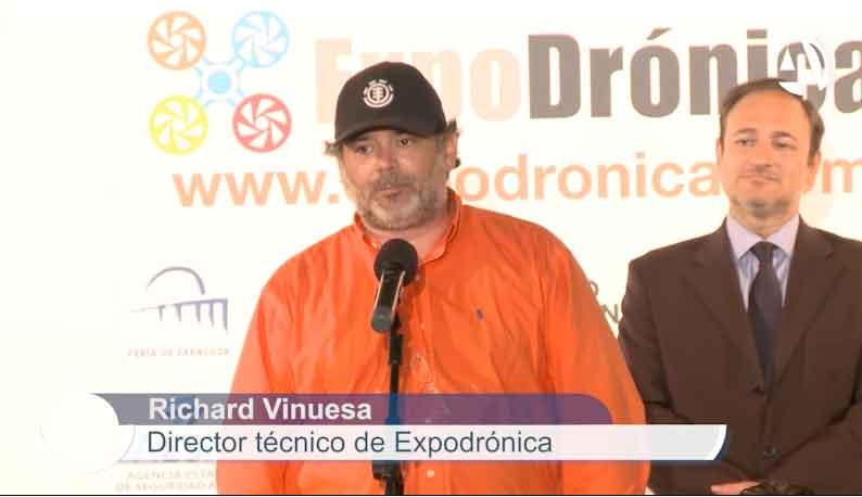 """Richard Vinuesa habla en """"Escúchate"""" de la feria de drones más importante de Europa, Expodronica"""