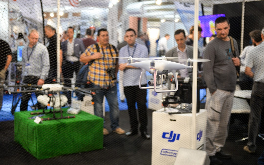 Expodronica hosts for the first time the launch in Europe of the new DJI drones