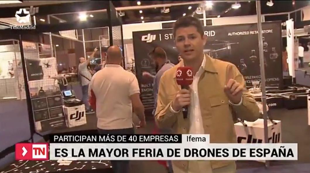 Expodrónica, la feria más importante de drones del sur de Europa, se celebra en Ifema
