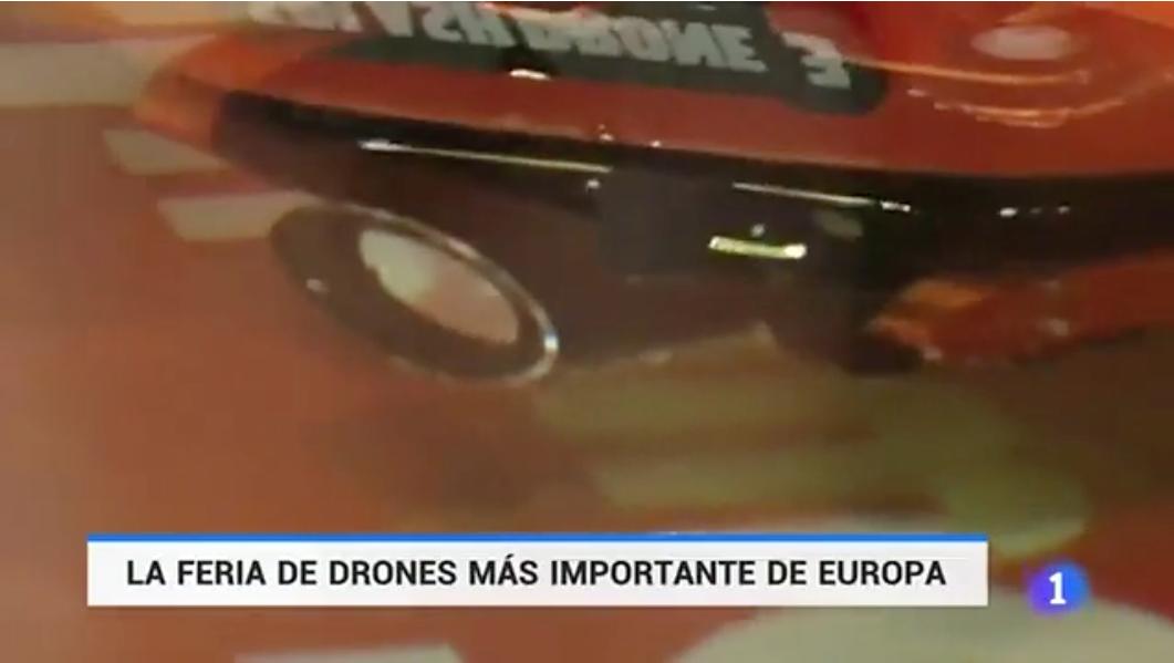 La feria de drones más importante de Europa en TVE