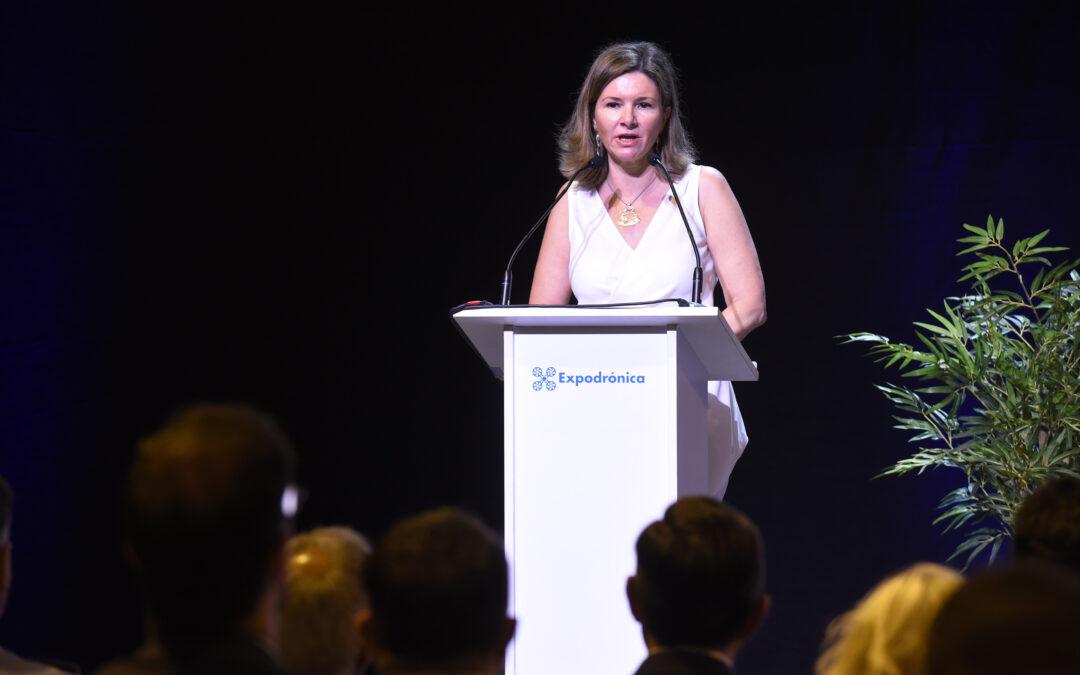 """María José Rallo, Secretaria General de Transportes de Fomento, """"Los drones podrán cruzar fronteras"""""""